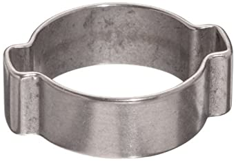 Dixon Stainless Steel 304 Pinch-On Double Ear Clamp