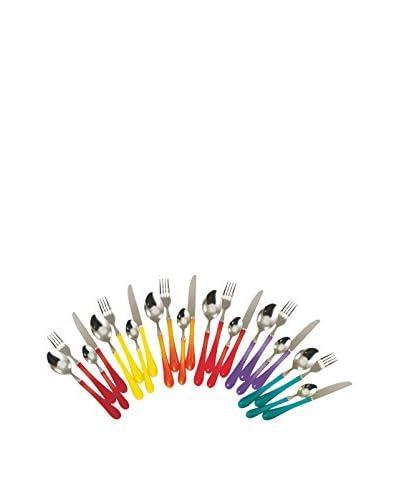 Satur Cubertería 24 Piezas Karma/Goccia Multicolor