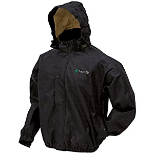 Frogg Toggs Men's Bull Frogg Signature75 Jacket, Black, X-Large