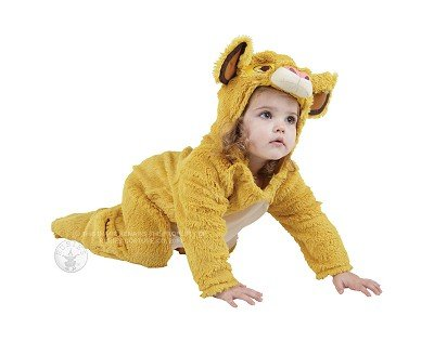Fancy Dress - Lion King - Simba - Infant 18-24Mo - Rubies front-1088634
