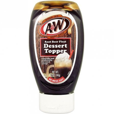 A&W Root Beer Float Dessert Topper 340 g (Pack of 2)