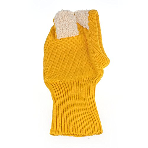 TAORE Baby Girls Boys Winter Hat Scarf Earflap Hood Scarves Skull Caps (Yellow)