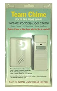 Wireless Doorbell - Navy Anchors Aweigh