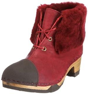 online retailer 674cb f2c4e schuhe think: Think Wood 7-87487 Damen Stiefel Reduziert