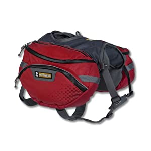 Ruffwear Palisades Pack, Large/X-Large, Red Currant