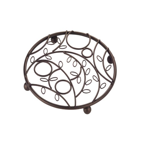 InterDesign Twigz Trivet for Kitchen, Dining Table - Bronze