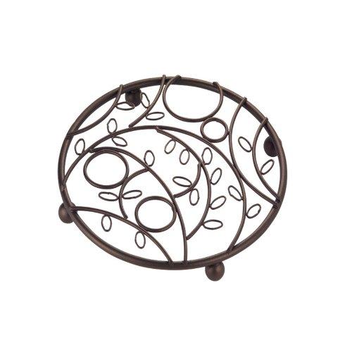 InterDesign Twigz Trivet for Kitchen, Dining Table - Bronze