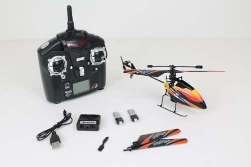 New WL V911 4 CH Single Rotor Helicopter Version 2 *New & Improved* Black