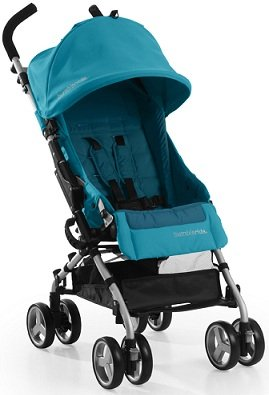 Bumbleride 2013 Flite AQUAMARINE Compact Lightweight Single Baby Stroller