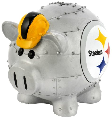 Pittsburgh Steelers Small Thematic Piggy Bank - 1