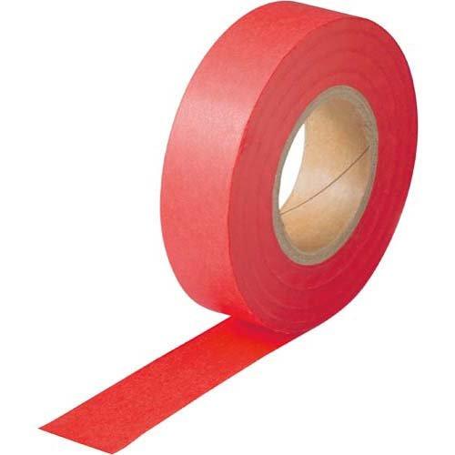 紙テープ 赤 10巻パック
