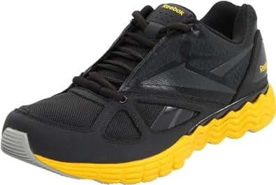 Reebok Solarvibe 150282, Herren Sportschuhe, Grau (gravel/blaze yellow 9), EU 40.5 (UK 7)