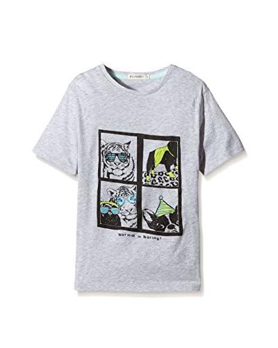 Billy Bandit T-Shirt Manica Corta [Grigio]