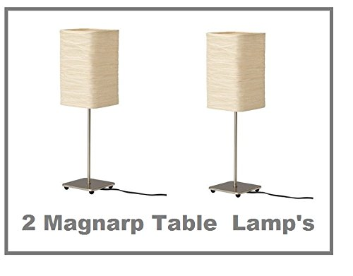 "Ikea Magnarp Table Lamp 20"" Height *Similar to Orgel Table Lamp* -- SET OF 2 - 1"