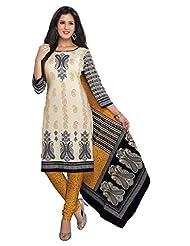AASRI Women Cotton Unstitched Salwar Suit - B015N8P936
