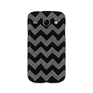 Ebby Cheveron Shades of Grey Premium Printed Case For Samsung Core I8262