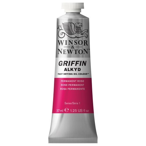 winsor-newton-griffin-alkyd-fast-drying-oil-color-tube-37ml-permanent-rose-by-winsor-newton