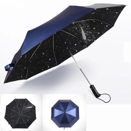 日傘 uvカット 100 遮光 折りたたみ 晴雨兼用 折りたたみ傘 自動開閉 完全遮光 ブランド 男性 女性 SAIVEINA ひんやり傘 紫外線 対策 遮熱 日傘 60cm