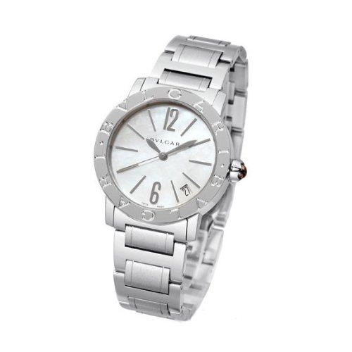 Bvlgari Bvlgari Automatic Mother of Pearl Dial Stainless Steel Ladies Watch BBL33WSSD