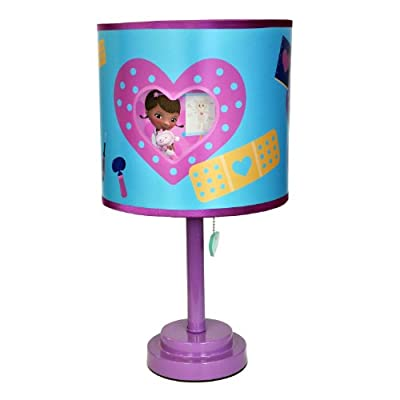 Disney Doc McStuffins Die Cut Table Lamp