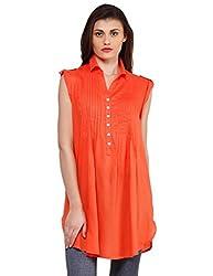 Oxolloxo Women orange tunic