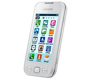 Samsung Wave 533 Smartphone GSM/EDGE/GPRS Bluetooth Blanc