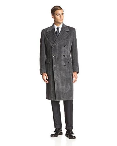 TOM FORD Men's Textured Wide Lapel Topcoat