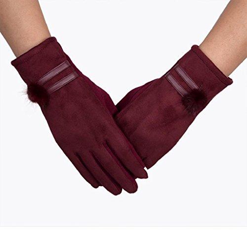 vovotrade-femmes-gants-decran-tactile-gants-de-poignet-doux-et-chauds-pour-lhiverrouge