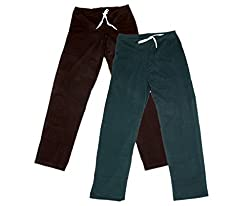 IndiWeaves Women Super Combo Pack 4 (Pack of 2 Lower/Track Pant and 2 T-Shirt)_Brown::Brown::Gray::Red::Blue_XXL