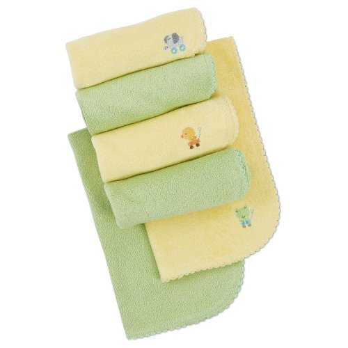 Gerber Terry Burp Cloth - Solid Neutral - 6 Pack front-462371