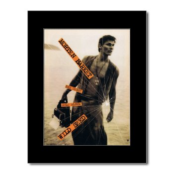 A-HA - Morten Harkett - Wild Seed Matted Mini Poster - 28.5x21cm