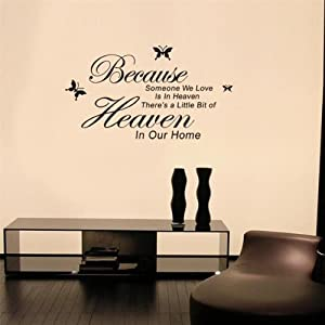 WOW!STickeRs Audrey Hepburn's Eyes Silhouette Wall Sticker Decals Home Decor Removable Black by MECO Co.,LTD