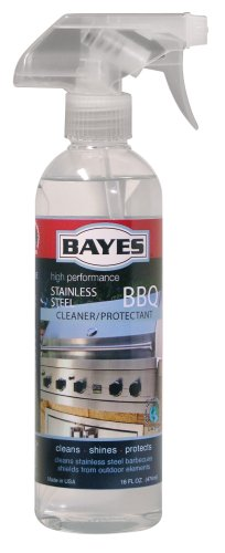 Bayes Premium Stainless Steel BBQ Cleaner/Protectant, 16-Ounce Bottles (Pack of 6)