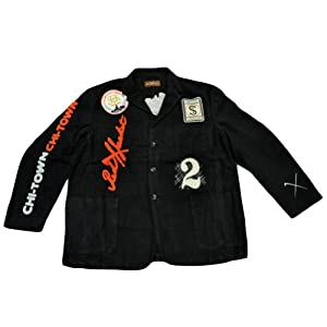 MLB Chicago White Sox Suit Button Jacket Chi Town Felt Mens Adult Size 5X-Large by Red X Jacket