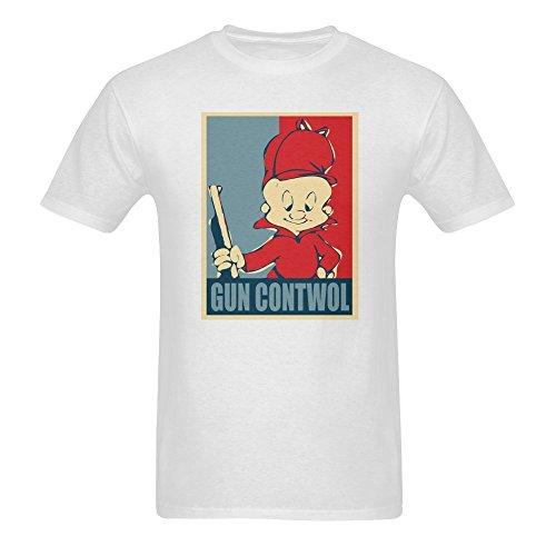 yu-ye-mens-elmer-fudd-pattern-short-sleeve-t-shirts-xx-large