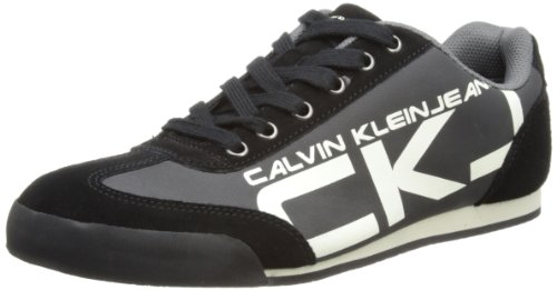 Ck jeans Mens Cale Black Low-Top S1396 8 UK, 42 EU