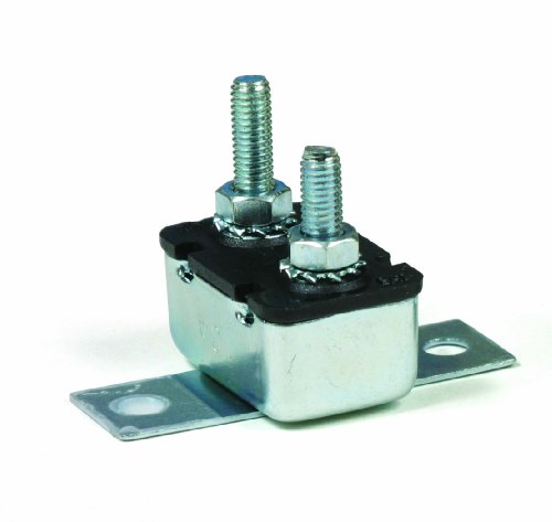 Circuit Breaker, In-Line, 12V, 20 amp, 90° Mount