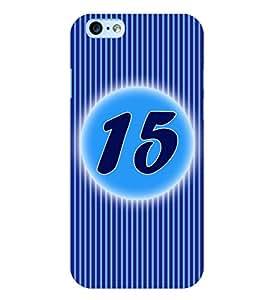 Fuson 3D Printed Numerology Designer back case cover for Apple I Phone 6 Plus - D4233