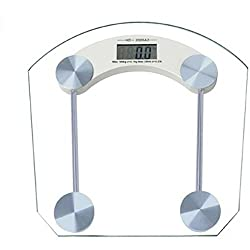 MCP Square shape Thick Glass Weighing Machine Digital Glass Bathroom Weight Scale Measurement