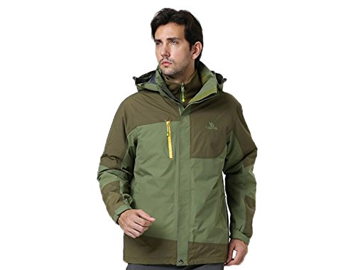 Camel Men'S Interchange 3-In-1 Active Jacket Color Tea Size Xxx-Large
