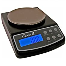 Escali L125 L-Series High Precision Professional Lab Scale, 125 Gram/.01 Gram