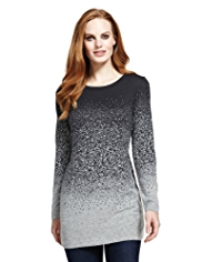 M&S Collection Snowfall Print Tunic