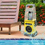 iCanister MP3/iPod Water-Resistant Speaker – Yellow