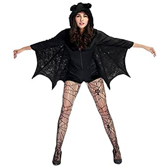 Faermi Bat Women Batman Halloween Costume