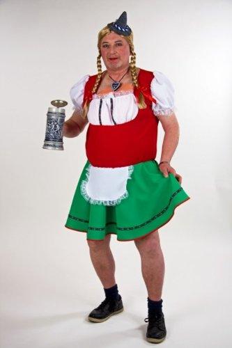 Männer-Kostüm Dirndl Liesl Größe 52/54