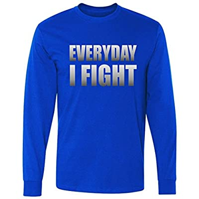 Everyday I Fight Cancer Tribute long sleeve T-Shirt