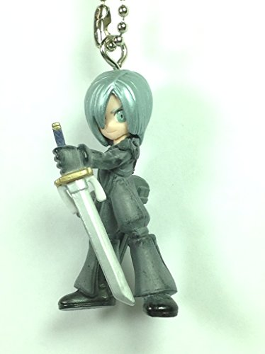 Kadaj - Final Fantasy 7 Advent Children Figure Keychain Swing Mascot Charm