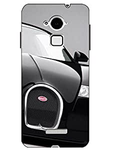 Make My Print Printed Multicolor Hard Back Cover For CoolPad Note 3