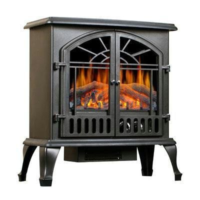 Lofty Sj22Dfb Galway Electric Stove Heater With Double Door