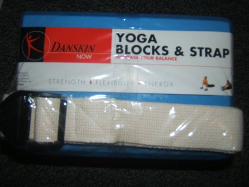 Danskin Now Yoga Blocks and Strap